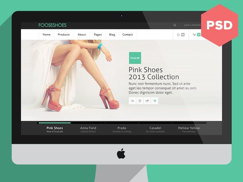 [PSD] eCommerce Theme