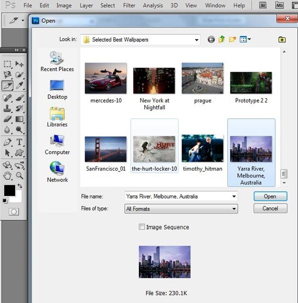 How to hyperlink in Photoshop open image hyperlink