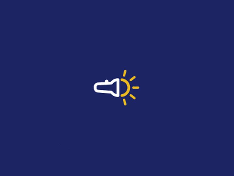 Flashlight Logo Mark