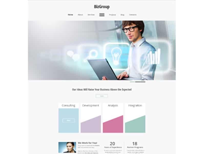 Free Business HTML5 Theme