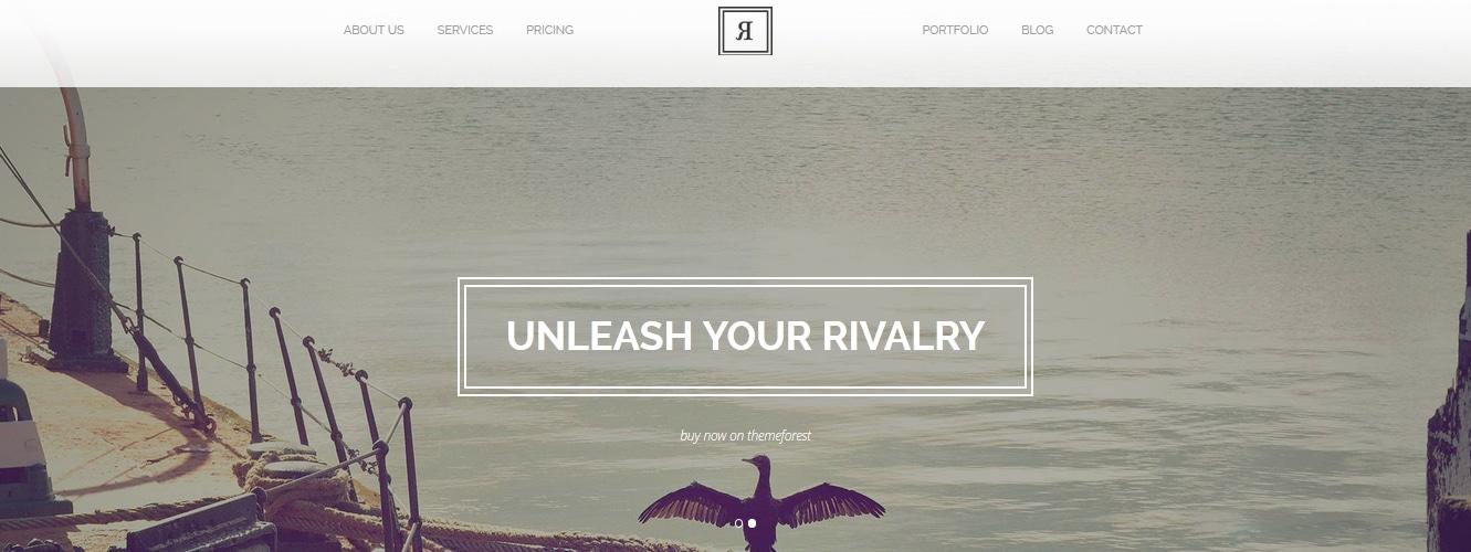 Rival - A One Page Multi-Purpose WordPress Theme