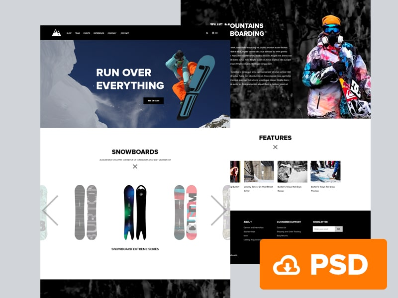Snowboarding Website Free