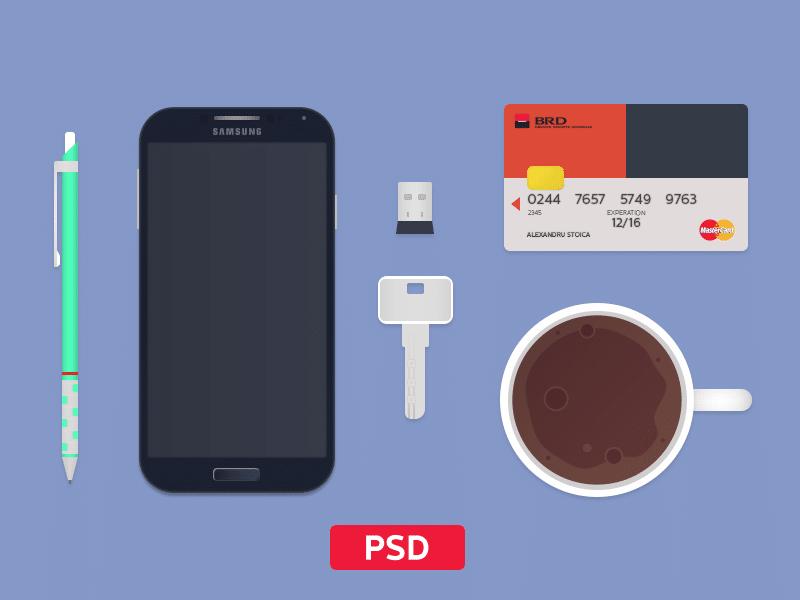 Survival Kit Free PSD Elements