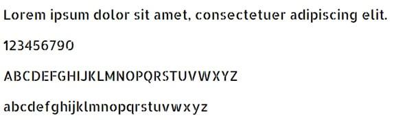 Allerta Stencil Web Safe Font