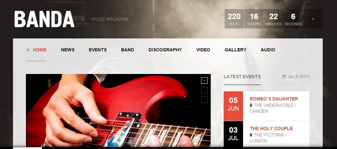 Banda - WordPress Music Magazine