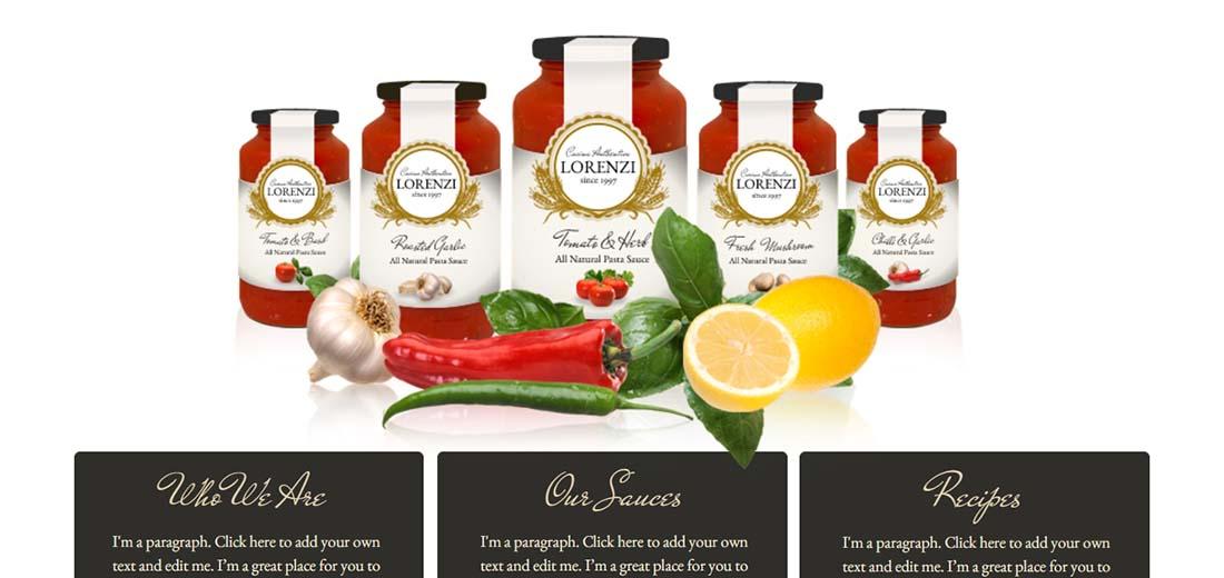 Pasta Recipes Website