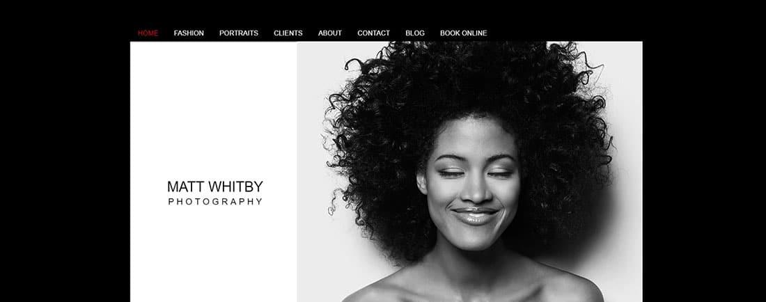Photo Studio Website Template _ WIX