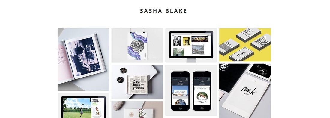 Graphic Design Portfolio Website Templates
