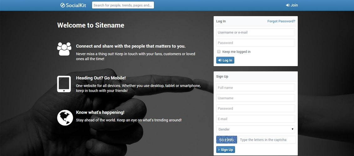 SocialKit - Social Networking Platform