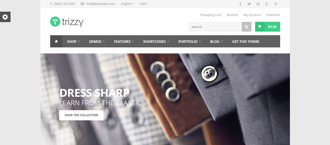 Trizzy - Multi-Purpose WooCommerce WordPress Theme
