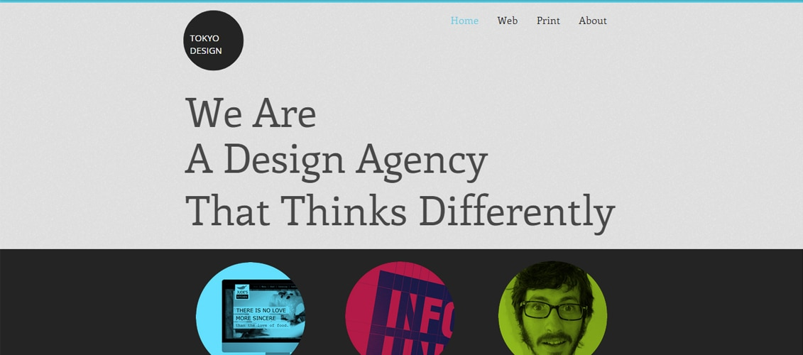 Design Agency Marketing Website Template