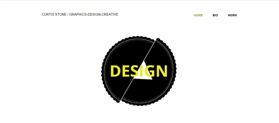 Designer Graphic Marketing Website Template