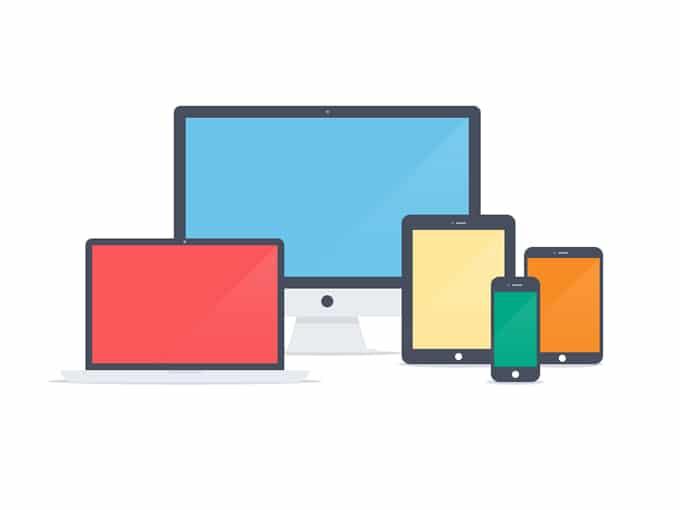 Flat Apple Device Pack UI Kit