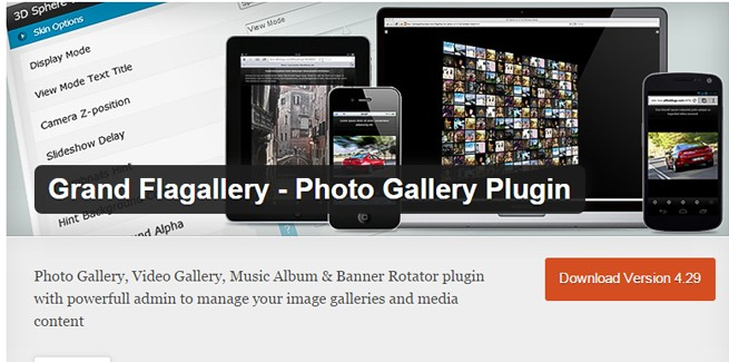 Grand Flagallery - Photo Gallery Plugin