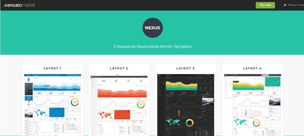 Nexus - Responsive Admin Template