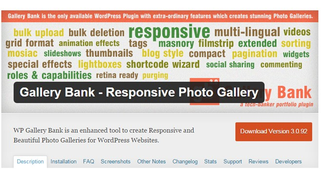WP Gallery Bank - Best Gallery Albums Plugin