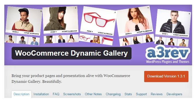 WooCommerce Dynamic Gallery