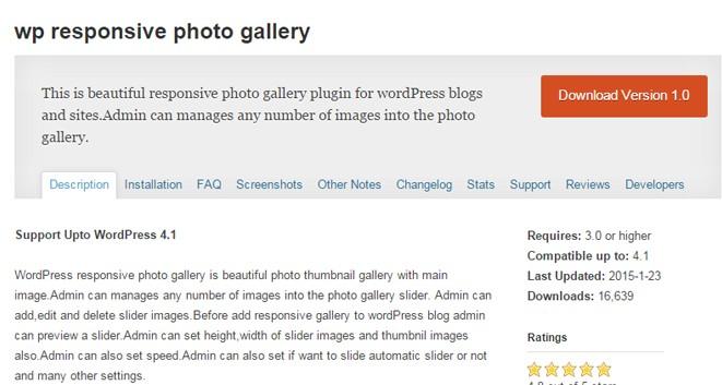 wp responsive photo gallery