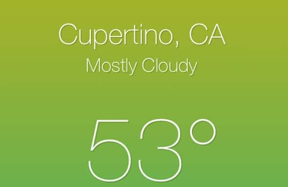 Weather Premium iOS Full App Templates
