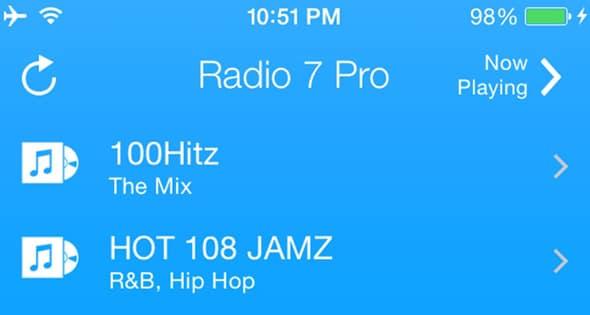 Radio 7 Pro Premium iOS Full App Templates