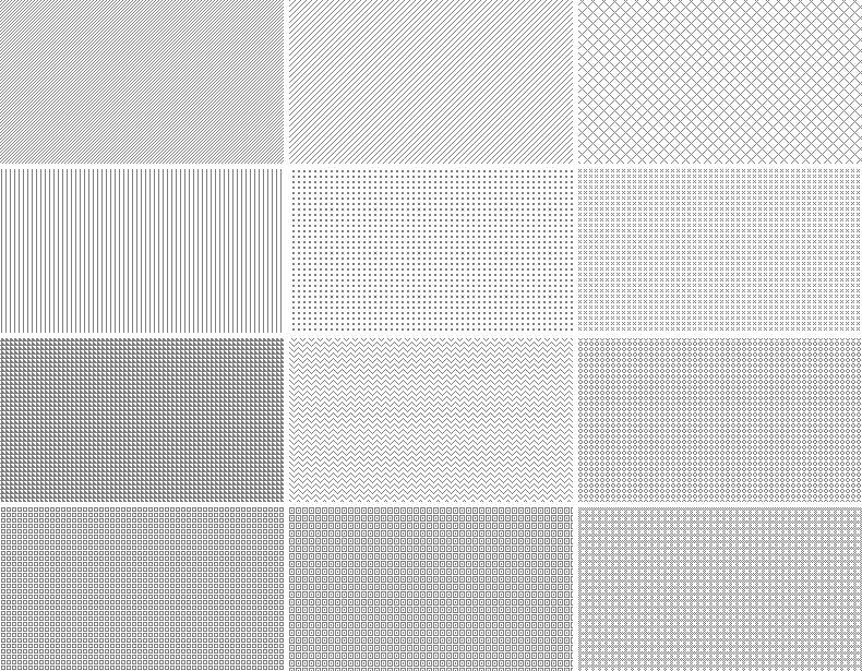 20 Repeatable Pixel Patterns Free Minimalist Subtle Patterns
