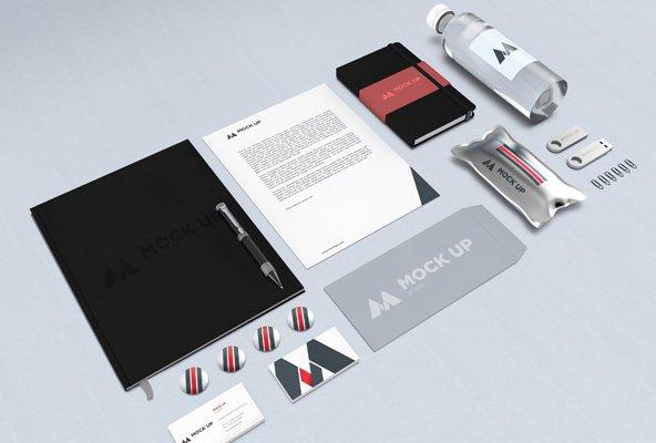 Branding Identity MockUp Vol