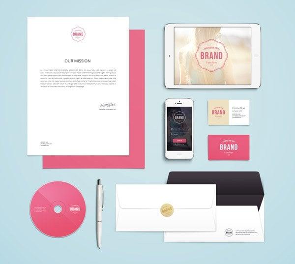 Branding Identity Mockup Vol 4