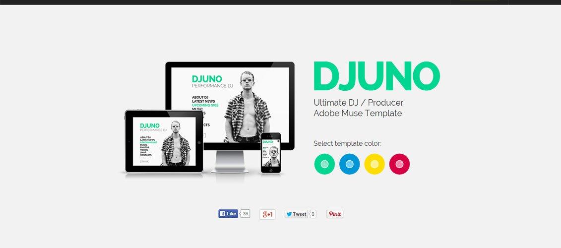 DJuno - Ultimate DJ Producer Muse Template