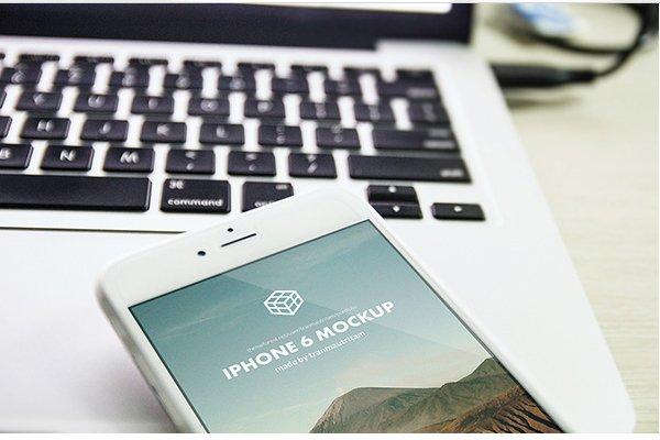 Photorealistic iPhone 6 Plus MockUps