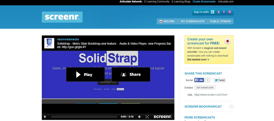 Solidstrap - Metro Style Bootstrap Skin V