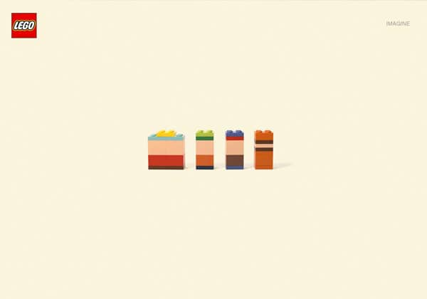 creative ads lego