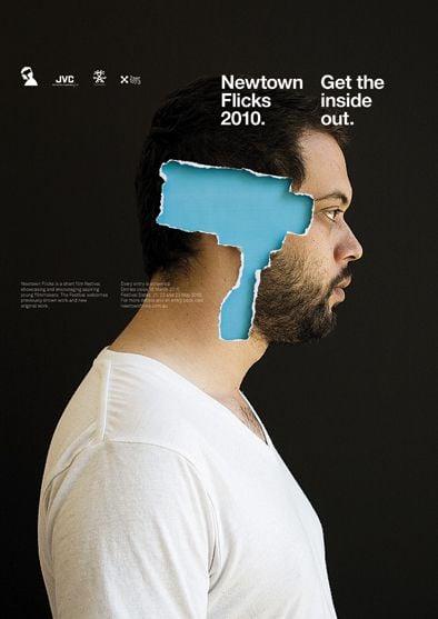 Newtown Flicks Film Festival Poster Christopher Doyle