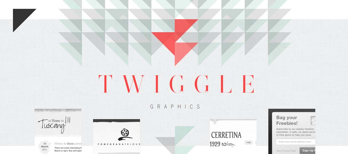 Twiggle Free HD Geometric Polygon Backgrounds