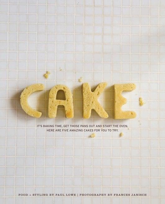 cake typography