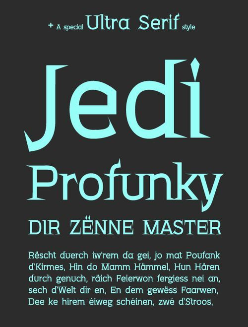 FF4a Kloe - Free font family