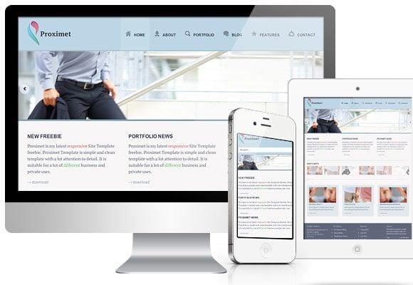 Proximet- Free responsive website template