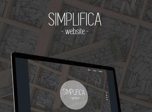 SIMPLIFICA Typeface Free
