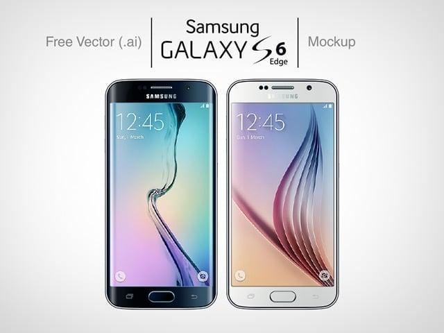 Samsung Galaxy S6 mockups