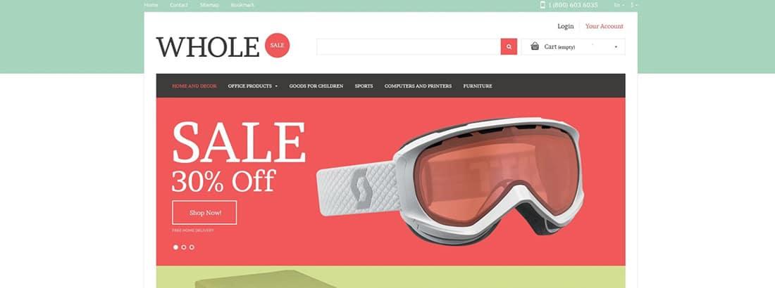 Wholesale Online PrestaShop Themes