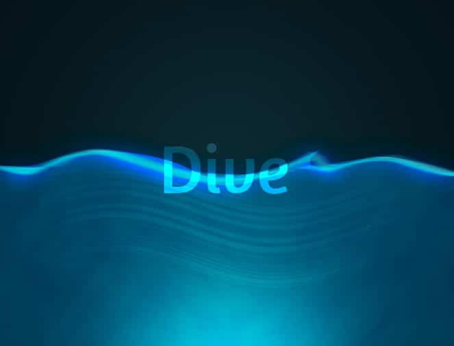 Blue-Dive-Background-PSD
