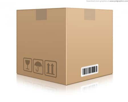 Cardboard-box-icon-(PSD)