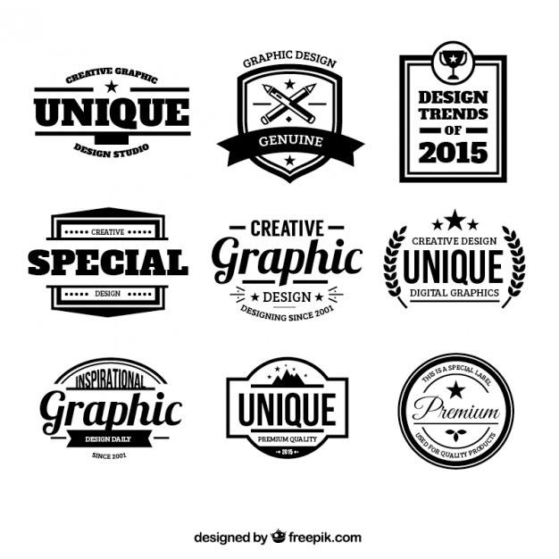 Design badges Free Logo Template