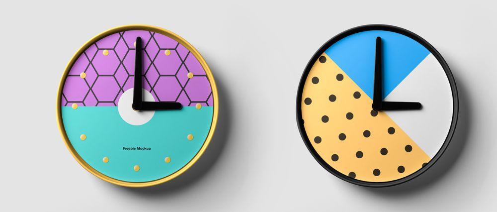 Designer Clock Mockup