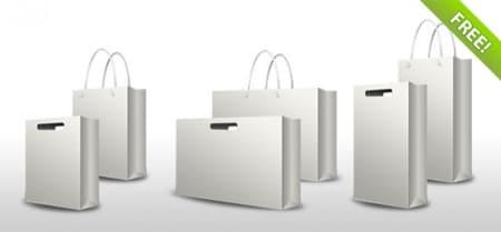 PSD-Shopping-Bag-Set
