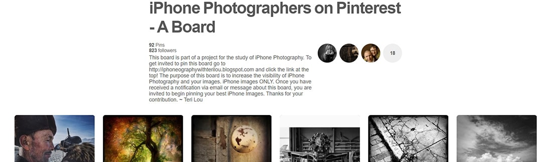 iPhone Photography Pinterest