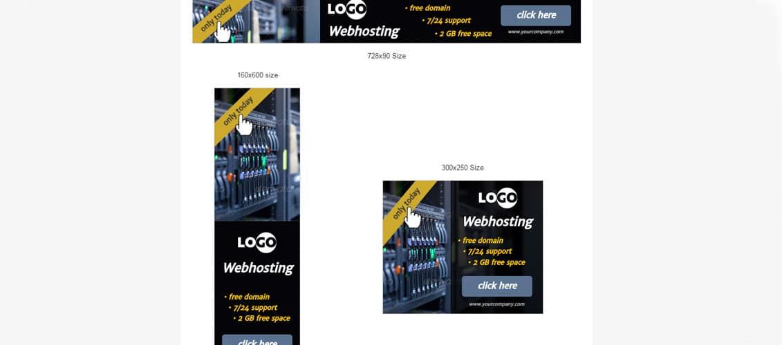 Ad HTML5 Template Webhosting
