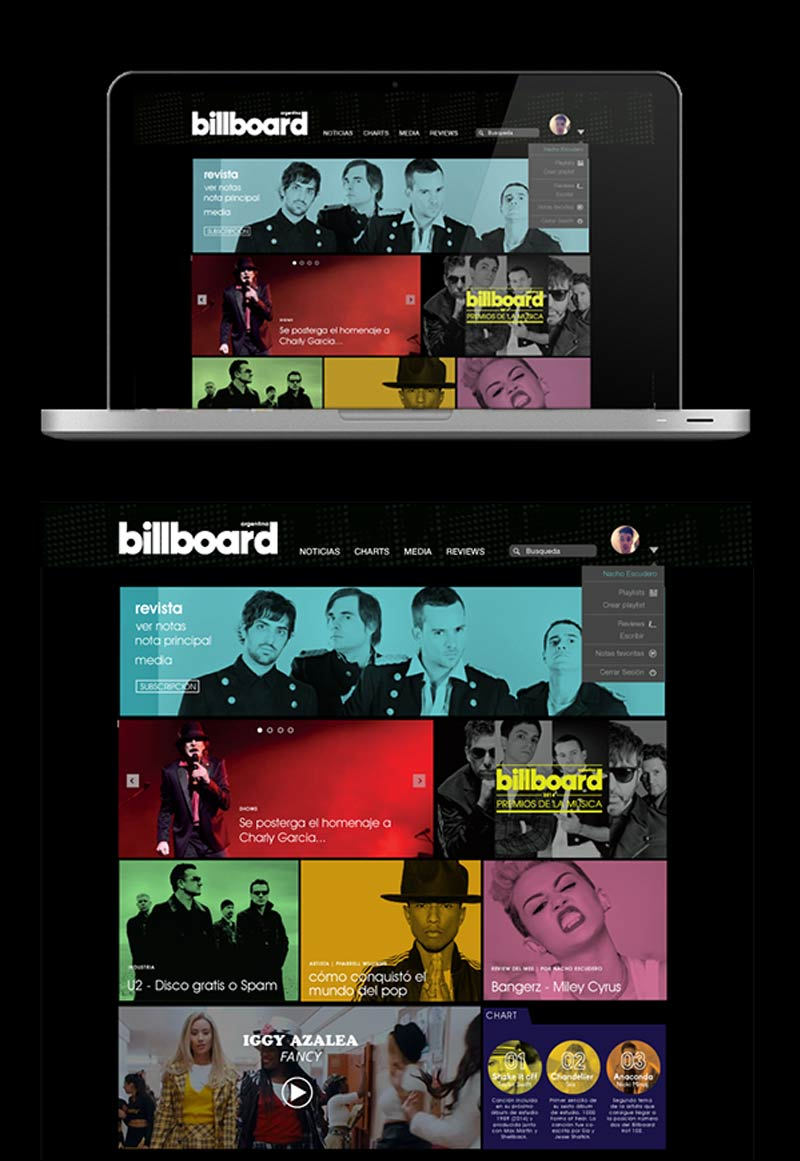 Billboard Modern Web Designs