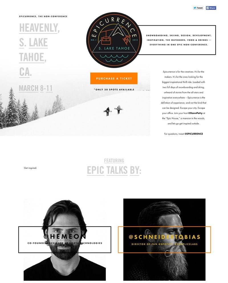 Epicurrence Ultra Modern Web Designs