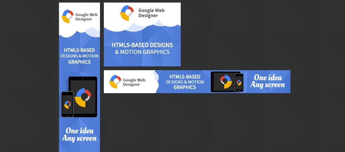 Google Web Design HTML 5 Animated Banner Two