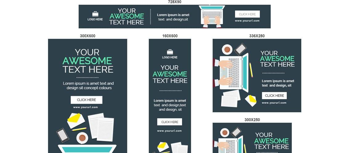 Multi Purpose HTML5 Banners